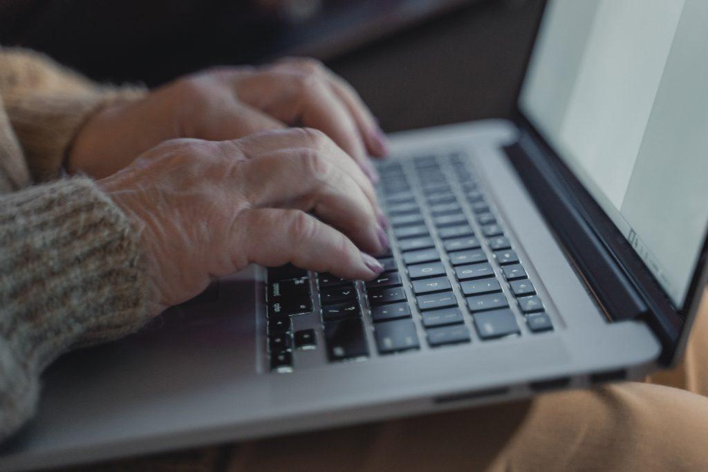 laptop van Azerty
